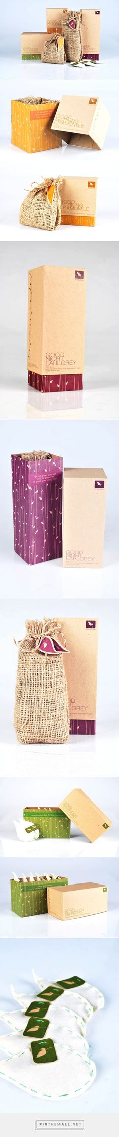 Collection of natural #packaging for tea design from Indonesia PD