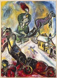 Marc Chagall - The War, 1943.