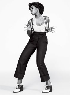 Janelle Monáe for GQ Magazine  Photos by Pari Dukovic  http://www.gq.com/story/janelle-monae-takes-one-giant-leap