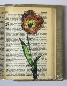 Altered Book Ideas, For Carts, Book Art, Altered Dictionary, Ideas Galor, Art Journals, Journals Ideas, Cool Ideas, Meaning Bits