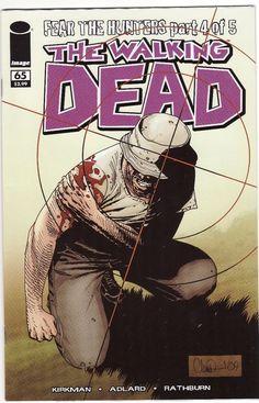 Walking Dead #65 NM Kirkman/Adlard. Dale Solo cover.  Hunters arc.