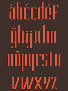 Caliga Typeface