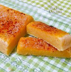 El turrón de yema tostada así preparado con esta sencilla receta resulta muy natural y puede conservarse bien tapado en un sitio fresco durante mucho tiempo