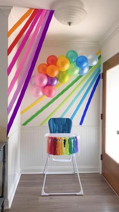 Rainbow First Birthday, Baby Boy 1st Birthday Party, Birthday Diy, First Birthday Parties, Birthday Party Themes, First Birthdays, Rainbow Baby, Party Themes For Kids, Birthday Morning