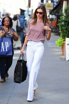 Idée jean blanc femme tenue chic