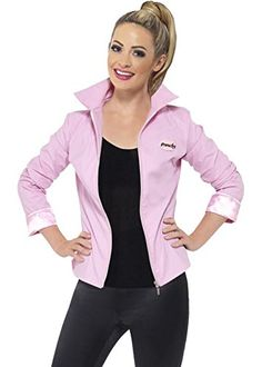 Womens graisse luxe Pink Ladies Jacket Medium (UK 12-14) | Your #1 Source for Toys and Games