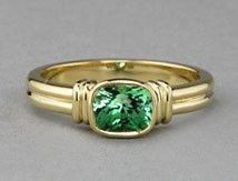 SparHawk Maine Tourmaline Ring from Cross Jewelers