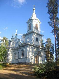 liperi. Viinijärven ortodoksinen kirkko Liperissä, kuvasi 15.8.2010 nimimerkki 'Tarinaharju' (public domain).