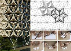 origami architecture.