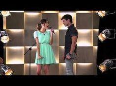 Diego y vilu cantan