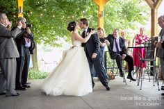 Reception entrance, first kiss, reception announcement, barn wedding, outdoor reception :: Sophie and Jamie's Wedding at Old Church at Oxford College of Emory University and The Farmhouse Inn in Madison, GA :: with Tyler
