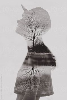 Double exposure by Dylan & Sara #stocksy #realstock