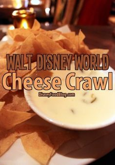 Walt Disney World Cheese Crawl - will definitely have to try these!