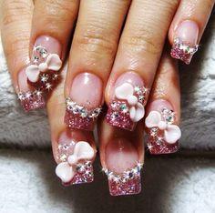 3D nail art design..