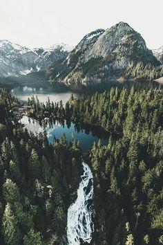 ikwt: Flight Over Golden Ears Provincial Park (Dylan Furst)