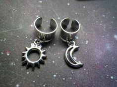 Dread bead Ear cuff with charm by lotusfairy on Etsy, $5.00