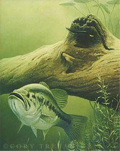 Afbeeldingsresultaat voor bass painting