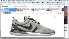 Nike fleece roshe