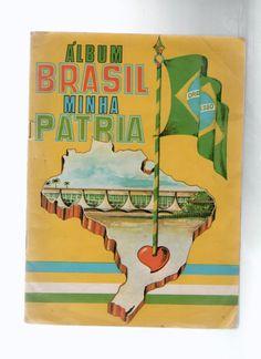 "Álbum de figurinhas ""Brasil, minha pátria"""