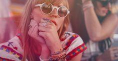 Pura Vida originals paired with our silver studded bracelet   Coachella Festival Fashion Inpiration