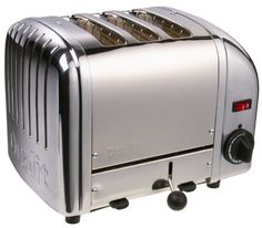 Dualit Combi Toaster in Silver Sandwitch), The 3 slice combi toaster gives you full control allowing you to make perfect toast. Dualit is the market leader in toasters and the 31216 is a prime example why. The Dualit Combi toaster is the ideal. Dualit Toaster, Loft Kitchen, Kitchen Dining, Kitchen Stuff, Kitchen Tools, Kitchen Ideas, Kitchen Gourmet, Modern Loft, Kitchens