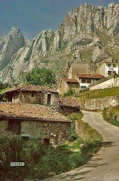 Tielve. Asturias. Spain.