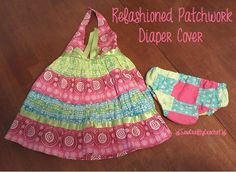 Because Every Dress Needs Matching Bloomers (Patchwork Diaper Cover) ~ Sew…
