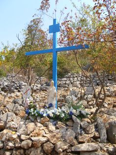 Medjugorje, Bosnia-Herzegovina The Blue Cross