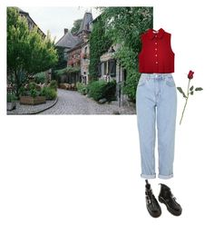 """""""Untitled #89"""" by inteovertgirl ❤ liked on Polyvore featuring Chicnova Fashion, Boutique and Dr. Martens"""