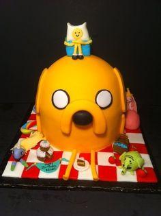 00d5a5e07285 Adventure Time Birthday Cake Ideas Adventure Time Cakes