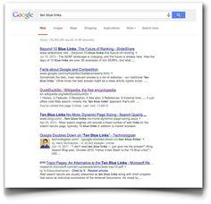 Google y la editorialización de la web: en defensa de los diez enlaces azules