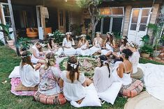 Doula, Yoga Party, Fairy Tea Parties, Full Moon Party, Gender Party, Baby Blessing, Boho Baby Shower, Beltane, Flower Mandala
