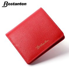 Bostanten Fashion Women Wallets Red Luxury Womens Small Wallet Letter Desigual Wallet Ladies Short Coin Purse 2015Christmas Gift