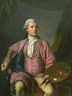Joseph Marie Vien, 1784 (Joseph Siffred Duplessis) (1725-1802)