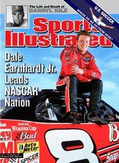 NASCAR's Dale Earnhardt, JR July 1, 2002 Sports Illustrated Cover