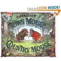 town mouse country mouse to use when teaching types of communities: urban suburban rural.