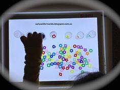 ¿Por qué no usar la mesa de luz para trabajar la clasificación y la discriminación de formas geométricas y/ colores?