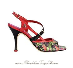 Gorgeous design from Bandolera Tango Shoes. www.BandoleraTangoShoes.ca (available on request)