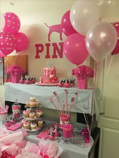 Victorias Secret Pink Birthday Party Ideas 13th birthday parties