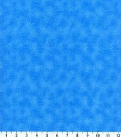 Keepsake Calico Fabric Essentials Swirl Blue at Joann.com