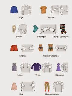 Tecken som stöd: Kläder
