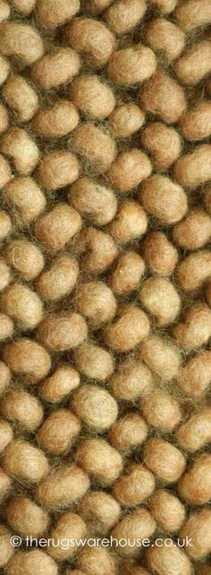 Denver Rust Rug (texture close up), a luxurious pure New Zealand wool rug, characterised by its large loops design, which when grouped together form a stunning pebbles-look (hand-woven in Morocco, available in 16 colours & 12 sizes) http://www.therugswarehouse.co.uk/modern-rugs3/denver-rugs/denver-rust-rug.html #rugs #luxury