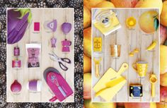 Revista Platos&Copas // cook&desing: Tomate, mora, mango