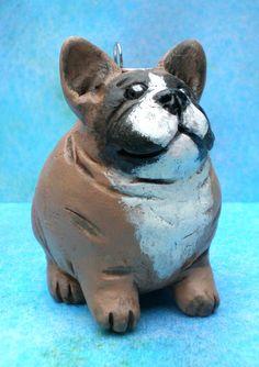 Freda the French Bulldog/Frenchie by Darbella by darbelladesigns