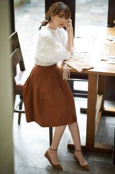 57 Trending Work & Office Outfit Ideas For Women 2019 – The Finest Feed – Hijab Fashion 2020 Modest Fashion, Girl Fashion, Fashion Dresses, Womens Fashion, Fashion Design, Japan Fashion Casual, Hijab Fashion, Classy Fashion, Fashion Tips