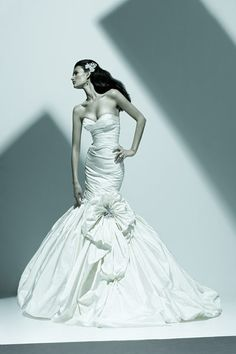 Ines di Santo  available at Gabrielle's Bridal Atelier  www.gabriellesbridal.com