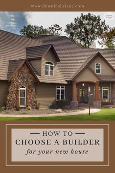 Building a new house can be an enjoyable experience. Choosing the right builder makes all the difference. Here's a guide on how to choose a builder for your new home so that you won't be frustrated with the process and actually have fun with creating your dream home. #choosingabuilder #homebuilder #buildingahouse #buildingahouseideas #buildingahousetips #buildingahousechecklist #buildingahousewheretostart #buildingahousethingstoknow #buildingahouseexterior #darkmodernfarmhouse…