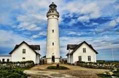 Lighthouse in Hirtshals, Denmark puzzle in Great Sightings jigsaw puzzles on TheJigsawPuzzles.com. Play full screen, enjoy Puzzle of the Day and thousands more.