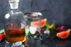 Beautiful #brandy with #fresh #fruit #foodstyling #foodphotography #cocktails