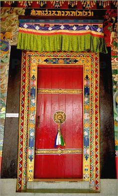 Buddhist  Monastery, Sikkim